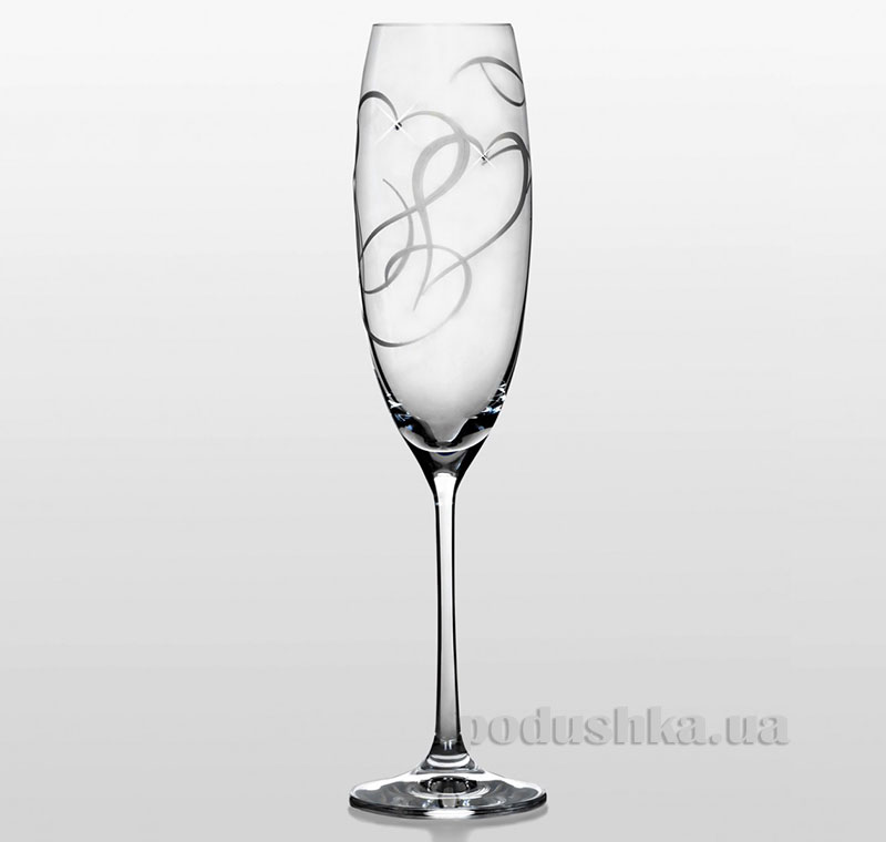 Набор бокалов для шампанского Grandioso Amour Swarovski Bohemia Sklo 31-03-230-2-053