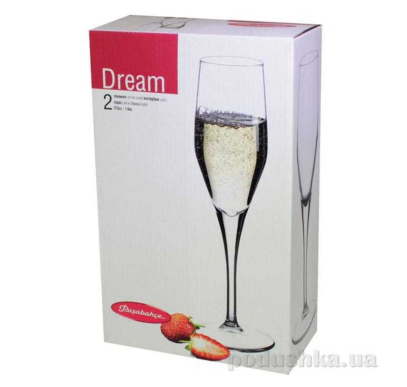 Набор бокалов для шампанского Pasabahce Dream 44591-2