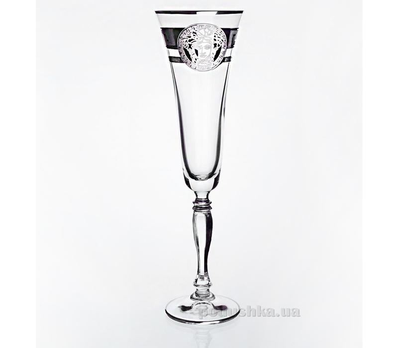 Набор бокалов для шампанского Victoria Bohemia Sklo 02-03-180-6-006
