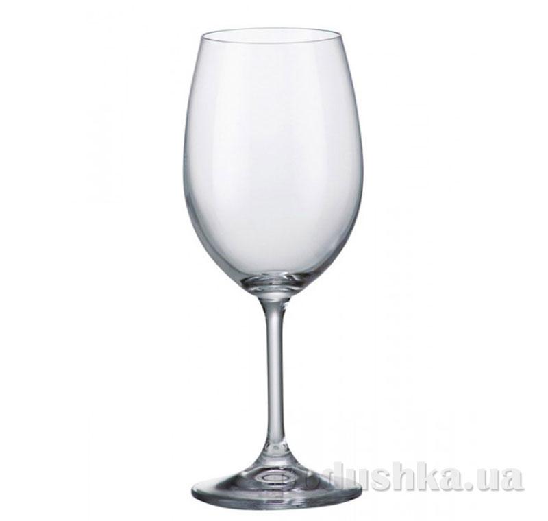 Набор бокалов для вина Bohemia Elegance 250 мл 6 шт. 40415/250/N   Bohemia