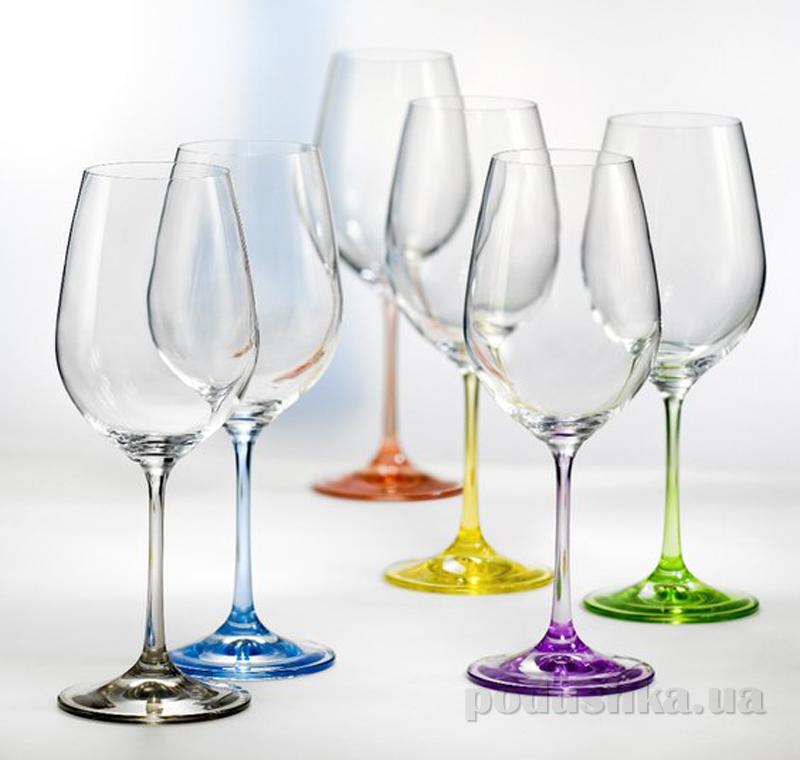 Набор бокалов для вина Bohemia Rainbow