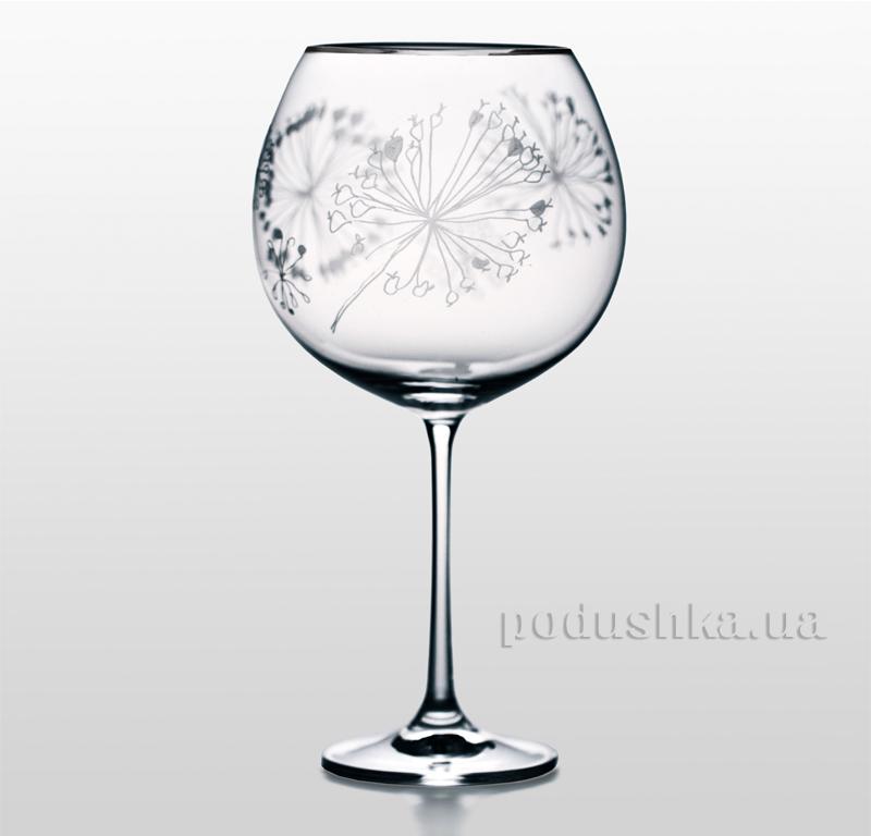 Набор бокалов для вина Grandioso Fiocco платина Bohemia Sklo 31-02-710-2-033