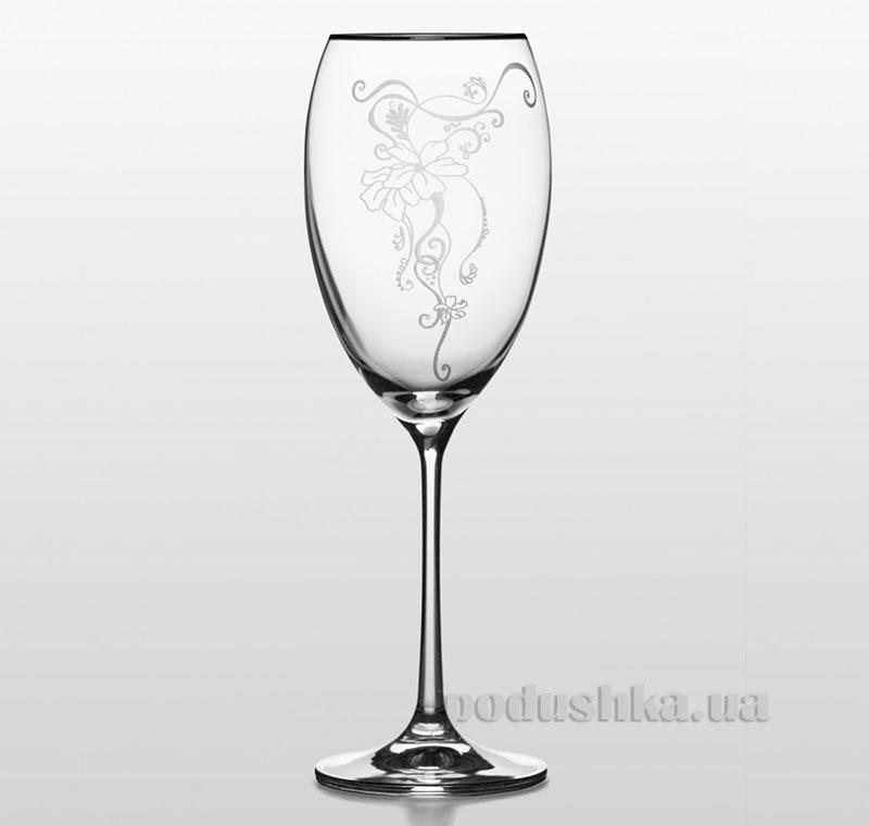 Набор бокалов для вина Grandioso Sunfloro Bohemia Sklo платина 31-02-450-2-026