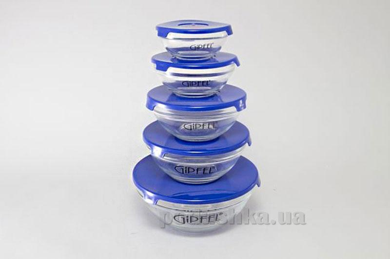 Набор Camelia 5 контейнеров для микроволновой печи Gipfel