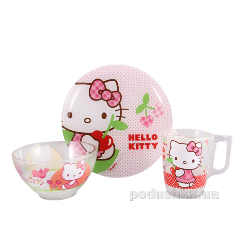 Набор детский Luminarc Hello Kitty Cherries J0768