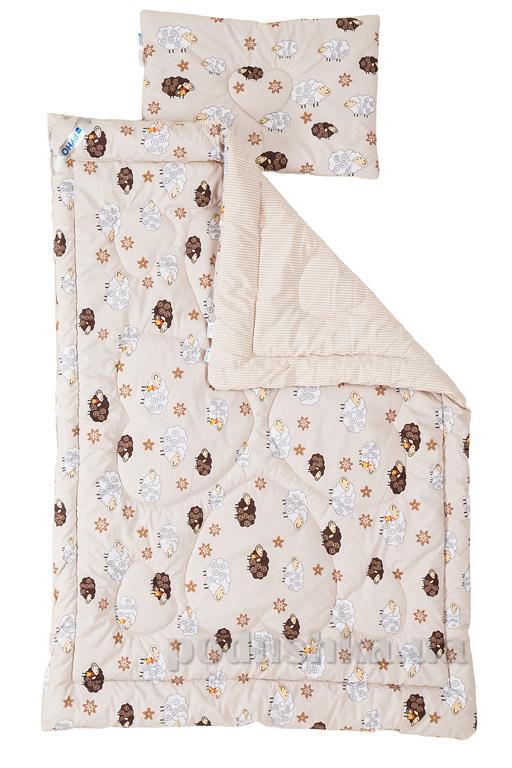 Набор детский Руно одеяло и подушка Барашка