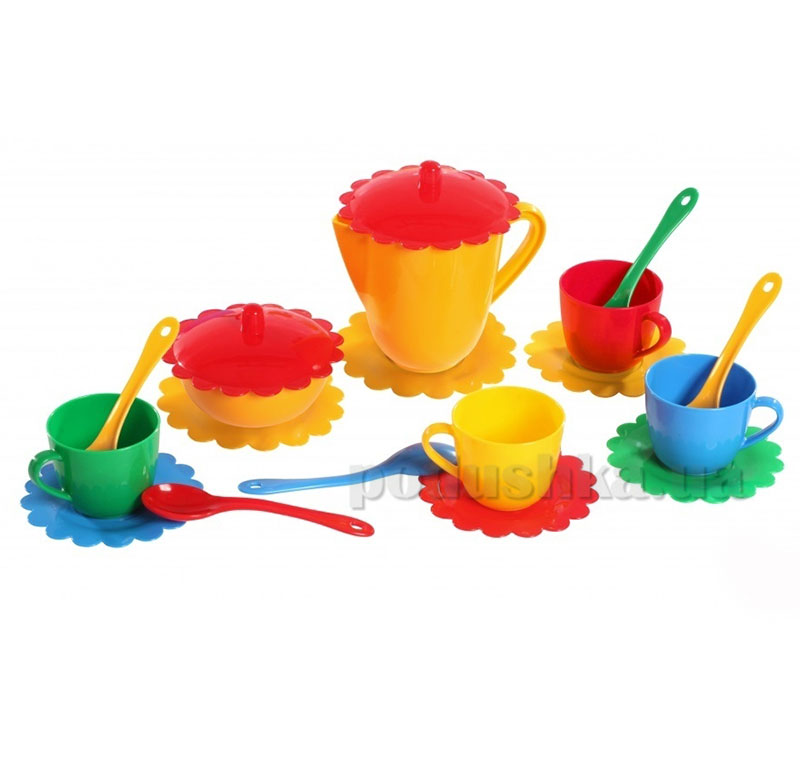 Набор детской посуды на 4 персоны Ромашка Тигрес 39085