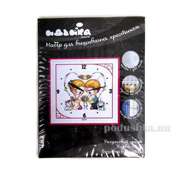 Набор для детского творчества Часы Детские сердца Идейка 06400025