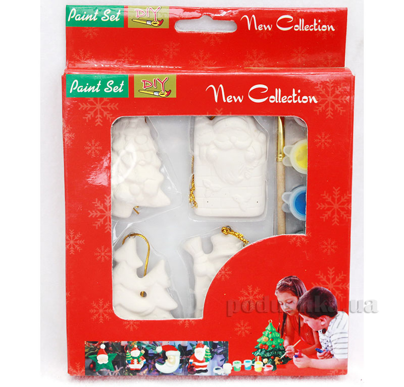 Набор для детского творчества Новогодний Девилон 022489