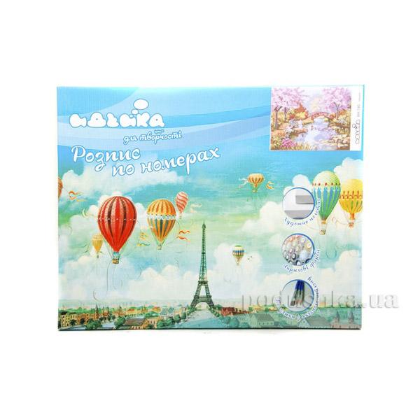 Набор для детского творчества Пейзаж Сад цветущей сакуры Идейка 06100190