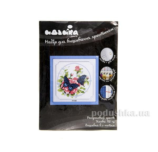 Набор для детского творчества Цветы Бабочки на цветх Идейка 06120100