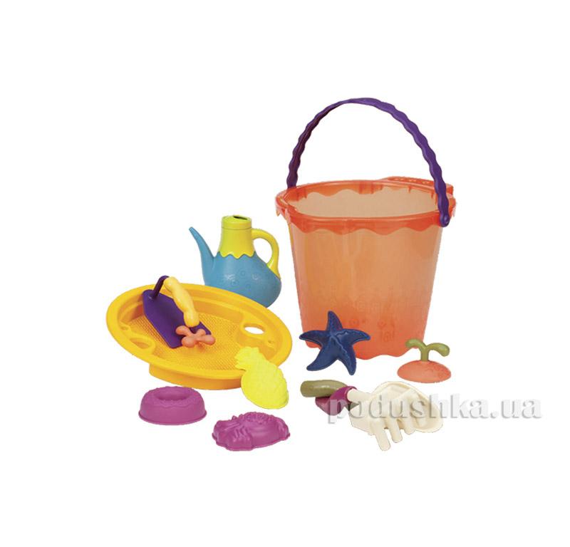 Набор для игры с песком и водой Мега-ведерце Battat BX1445Z