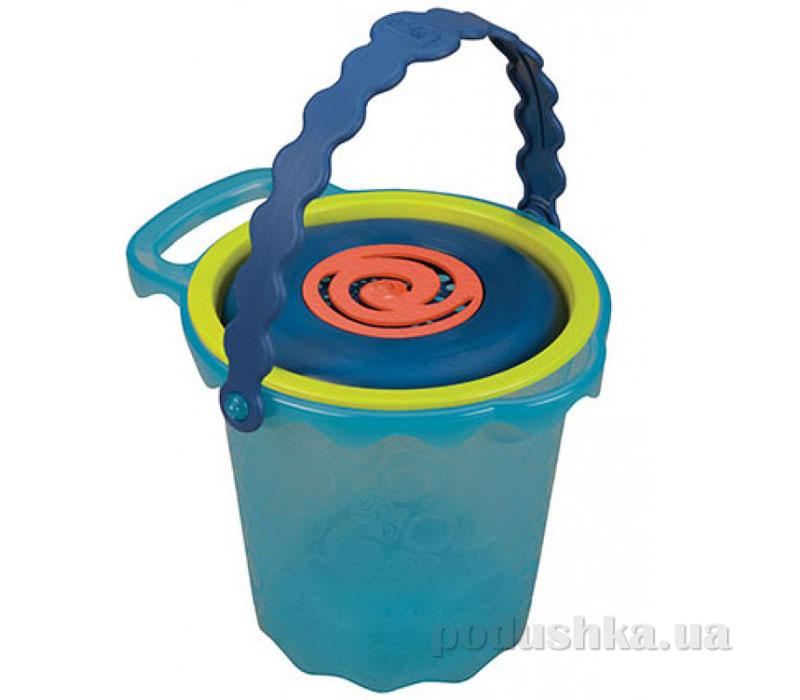Набор для игры с песком и водой ВЕДЕРЦЕ ОКЕАН (10 предметов)