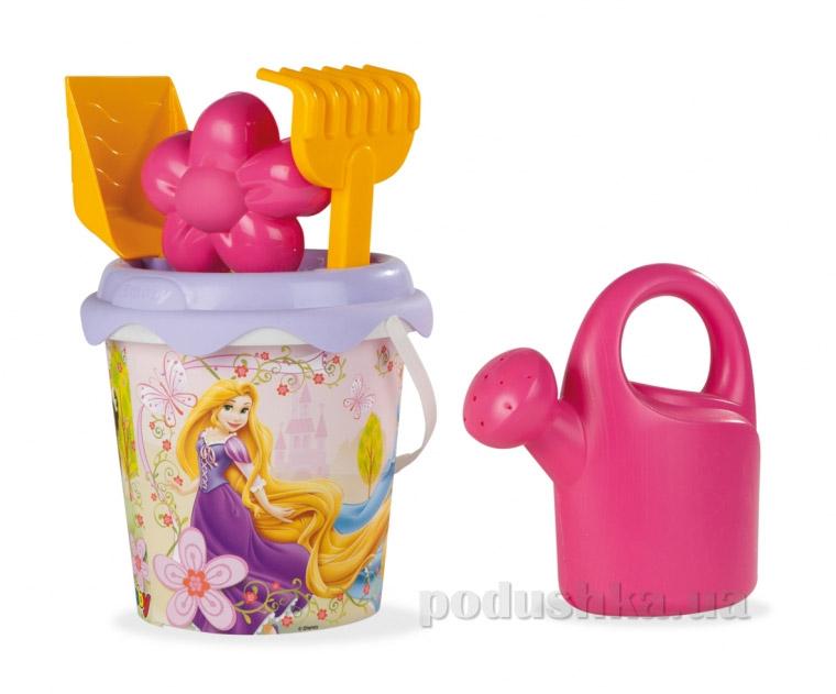 Набор для игры с песком Smoby Принцессы Диснея 5 аксессуаров 040190