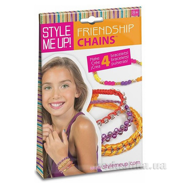 Набор для изготовления браслетов Friendship Chains Wooky 00411