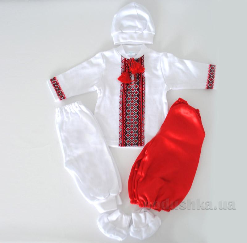 Набор для крещения Казачок Bimbissimi КП-004 красный с белым