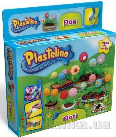 Набор для лепки Plastelino Цветочная фантазия