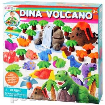 Набор для лепки PlayGo Динозавры