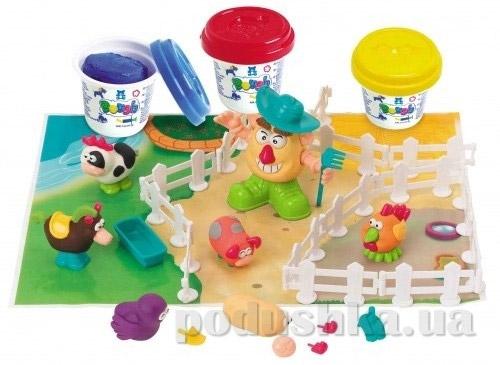 Набор для лепки PlayGo Фермер и его друзья
