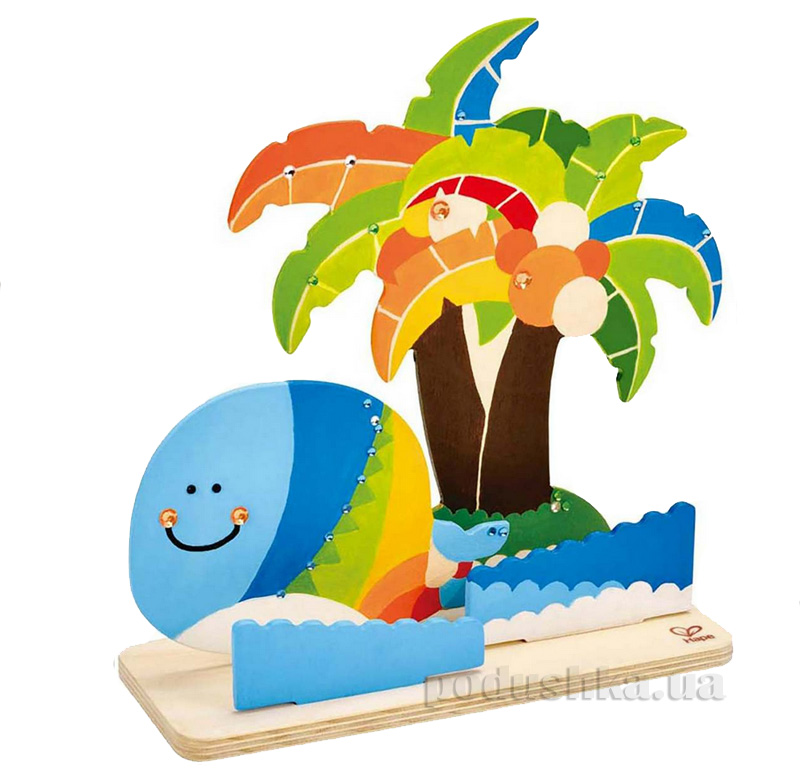 Набор для раскрашивания Тропический остров Hape E5110