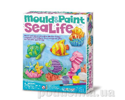 Набор для творчества 4M Фигурки из гипса Морской мир