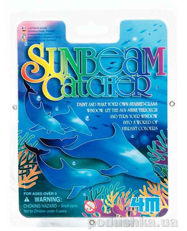 Набор для творчества 4M витраж красками Дельфины