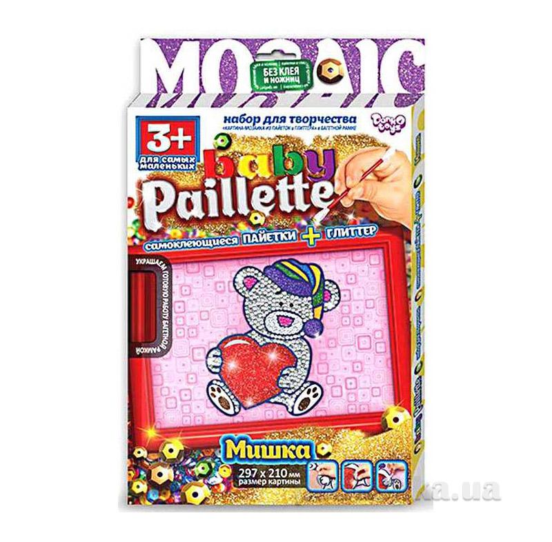 Набор для творчества Baby Paillette Danko Toys РG-01-01,02,03,04,05,06 ФР-00004620