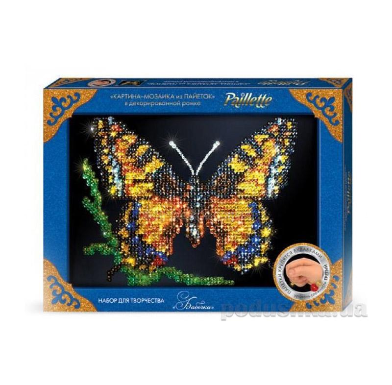 Набор для творчества Мозайка из Пайеток Danko Toys (10) MAXI Пм-02-01,02,03,04,05 ФР-00004384