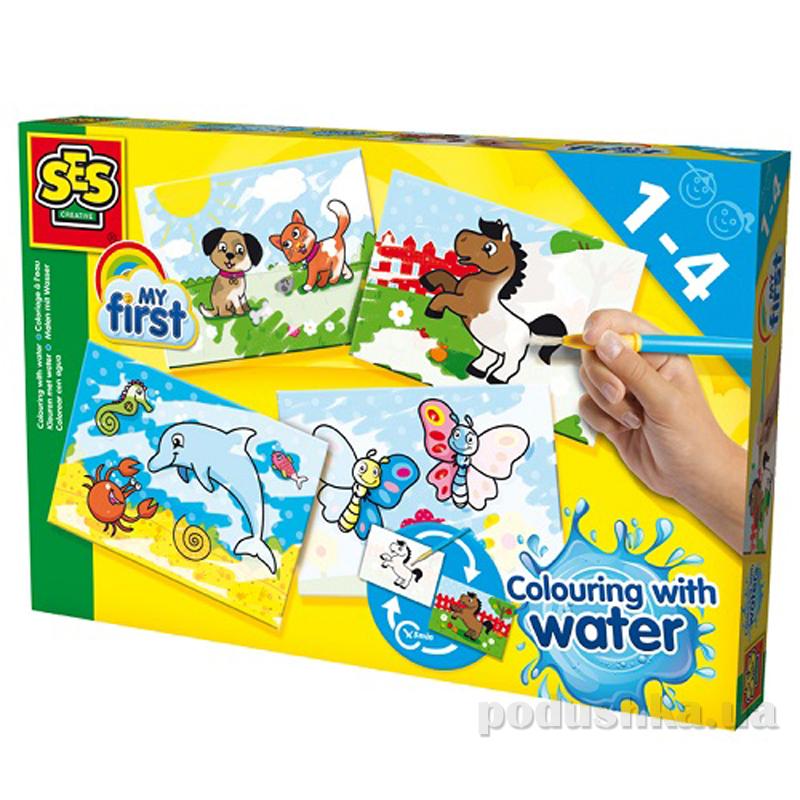 Набор для творчества My First Водные Рисунки Ses 14421S