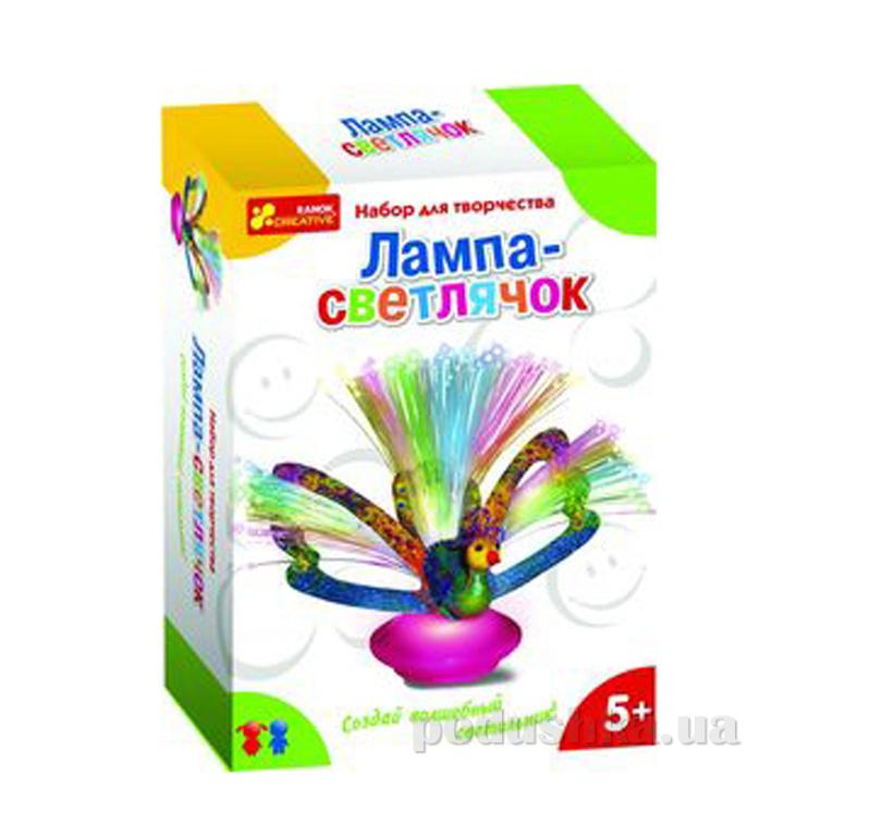 Набор для творчества Ranok Creative Лампа-светлячок Павлин 15100142Р,9003