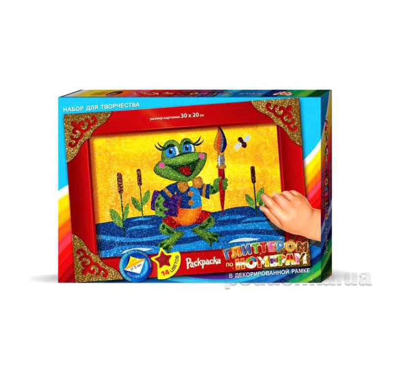 Набор для творчества Раскраска глиттером Danko Toys (10), БМ-01-01,02,03,04,05 39-5-9247