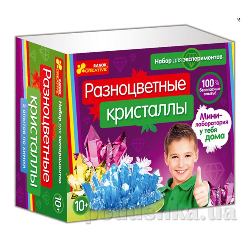 Набор для творчества Разноцветные кристаллы Ranok Creative 12115010Р,0308-1