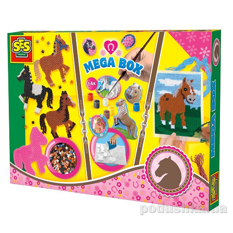 Набор для творчества Веселые Лошадки Ses 14939S