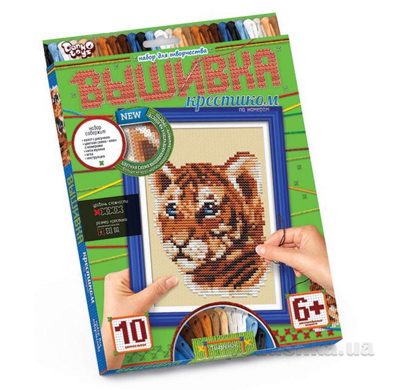 Набор для творчества Вышивка крестиком по номерам Danko Toys ФР-00005163