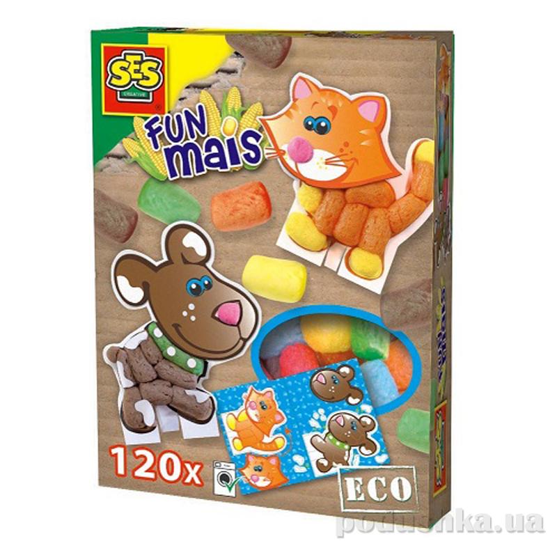 Набор для творчества Забавная Кукуруза Домашние Животные Ses 24951S