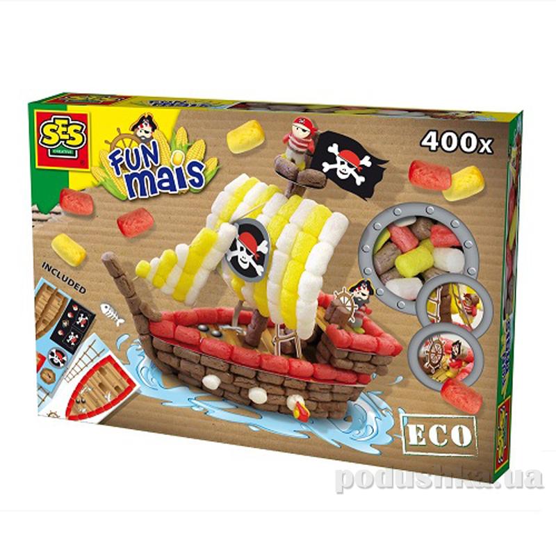 Набор для творчества Забавная Кукуруза Пиратский Корабль Ses 24975S