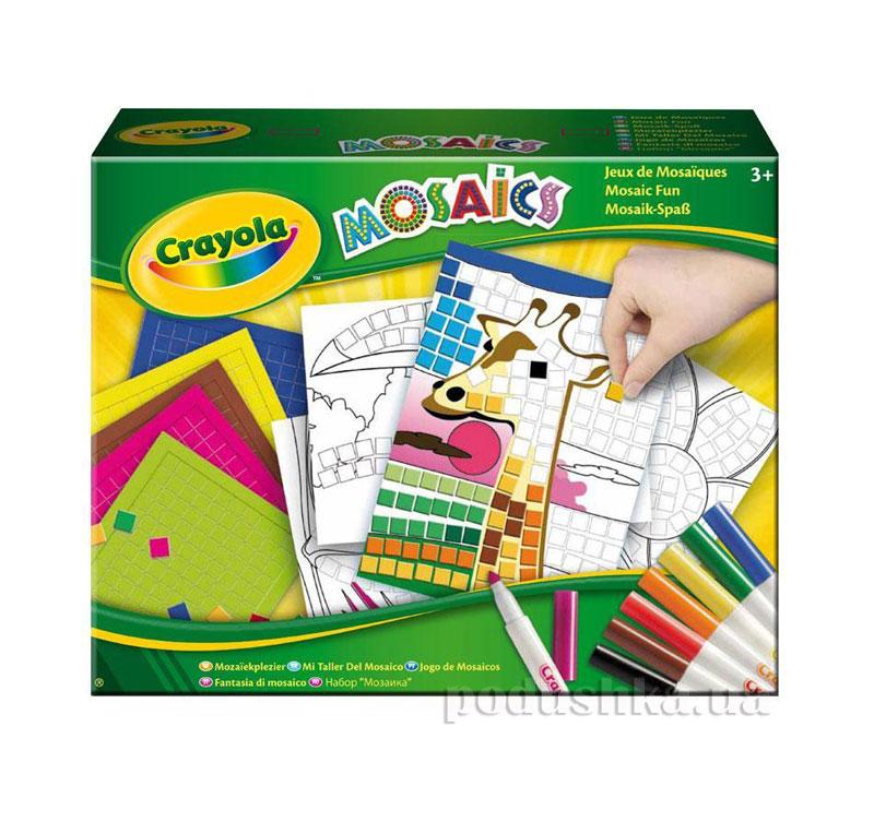 Набор для творчества Забавная мозаика Crayola 04-1008
