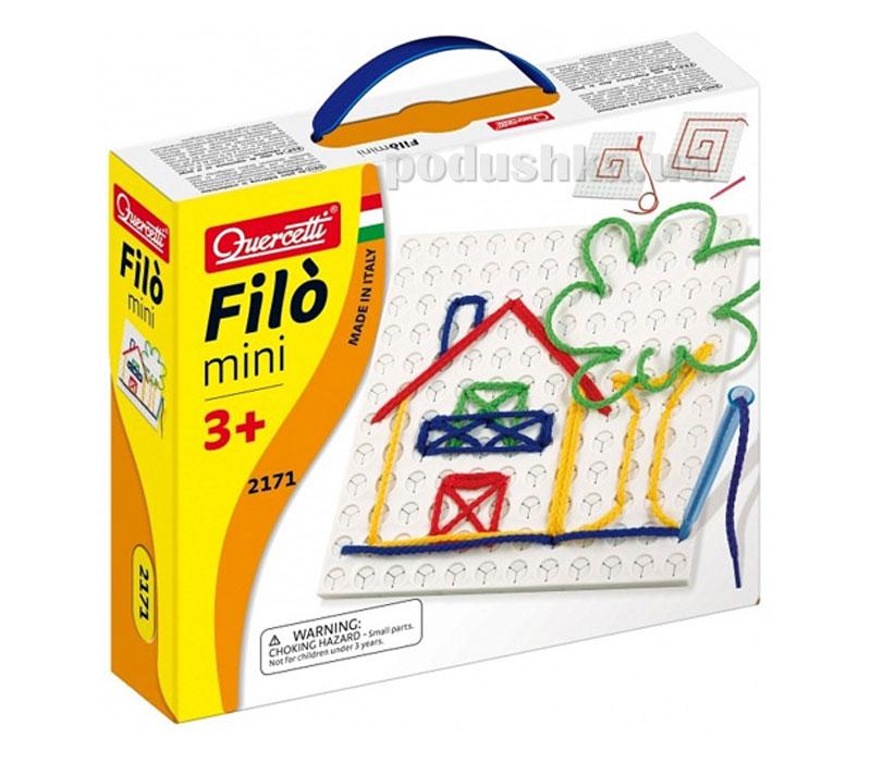 Набор Для занятий мозаикой Filo Mini Quercetti 2171-Q