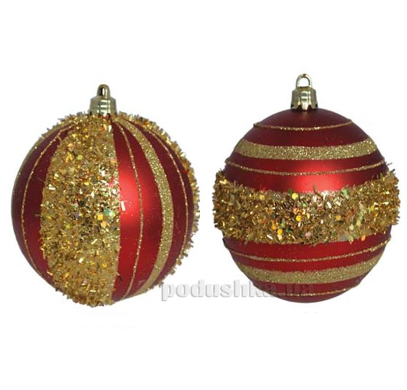 Набор елочных шаров Круги Новогодько 972255
