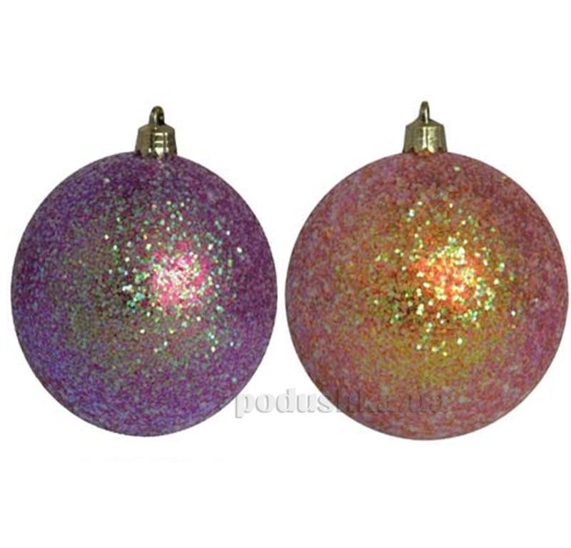 Набор елочных шаров Глиттер Новогодько 972261