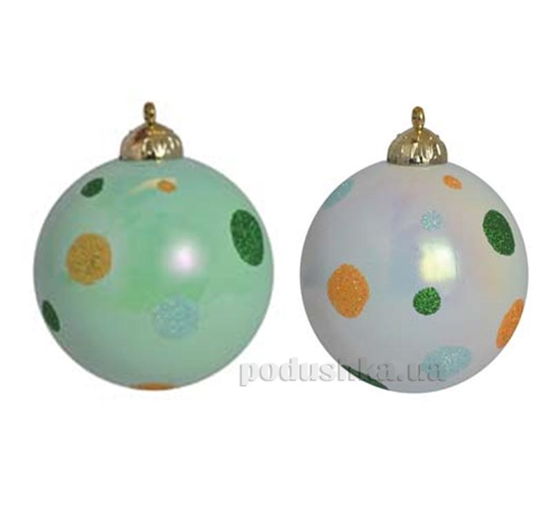 Набор елочных шаров Горошек Новогодько 972257