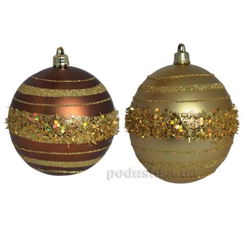 Набор елочных шаров Шоколад Новогодько 972278