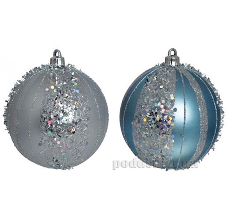 Набор елочных шаров Снежки Новогодько 972243