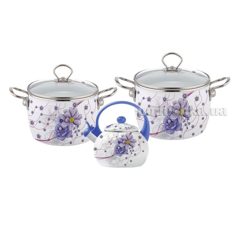 Набор эмалированной посуды 5 предметов Kamille 5900В   Kamille