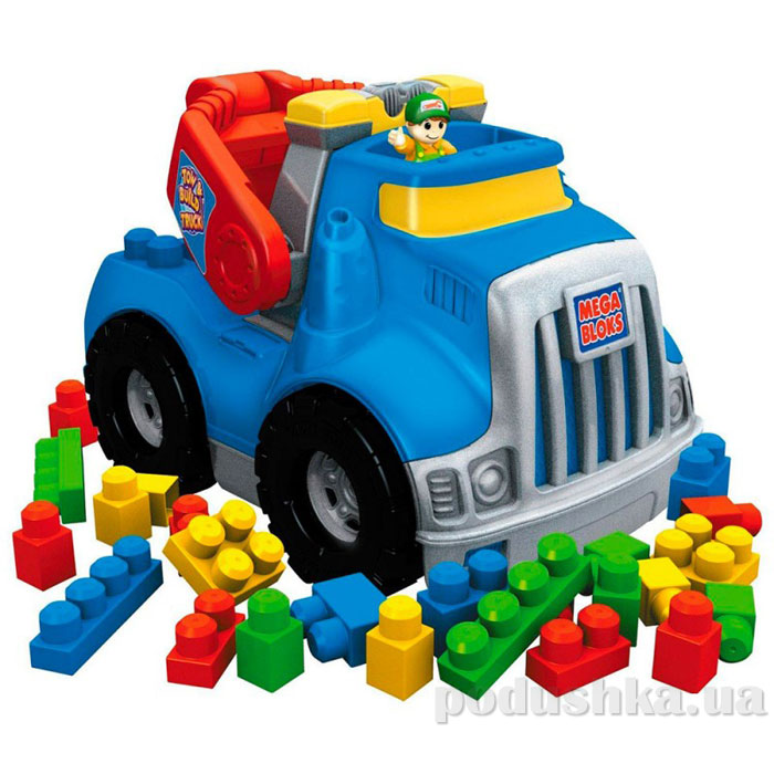 Набор Эвакуатор с конструктором 683 Mega Bloks