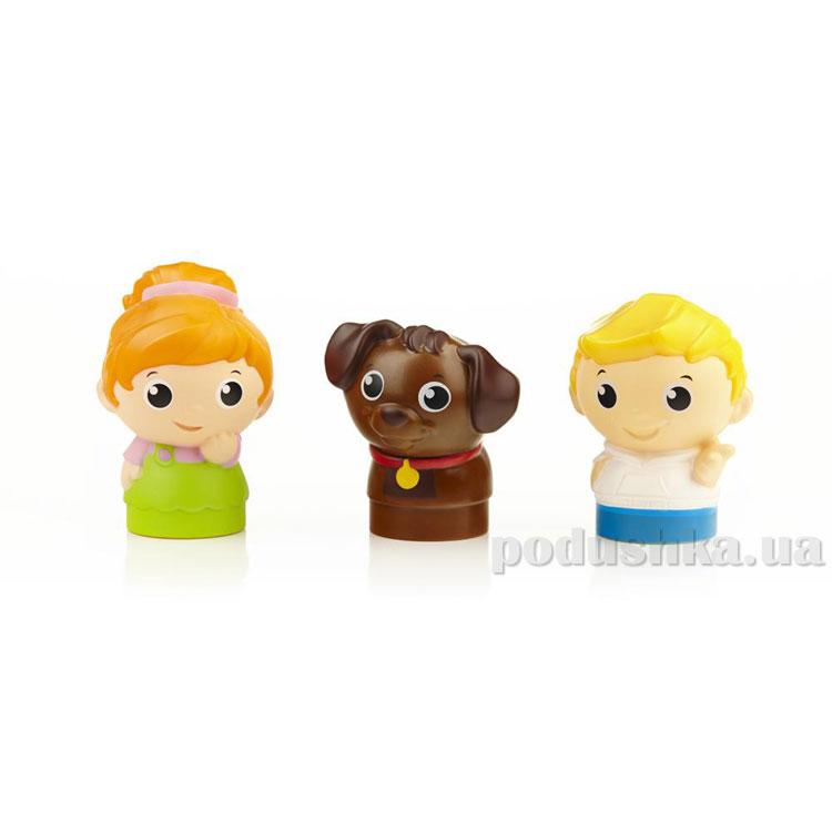 Набор фигурок Мальчик девочка и щенок 6622 Mega Bloks