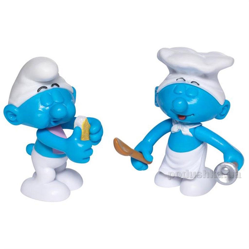 Набор фигурок Обжора и Повар The Smurfs 49609