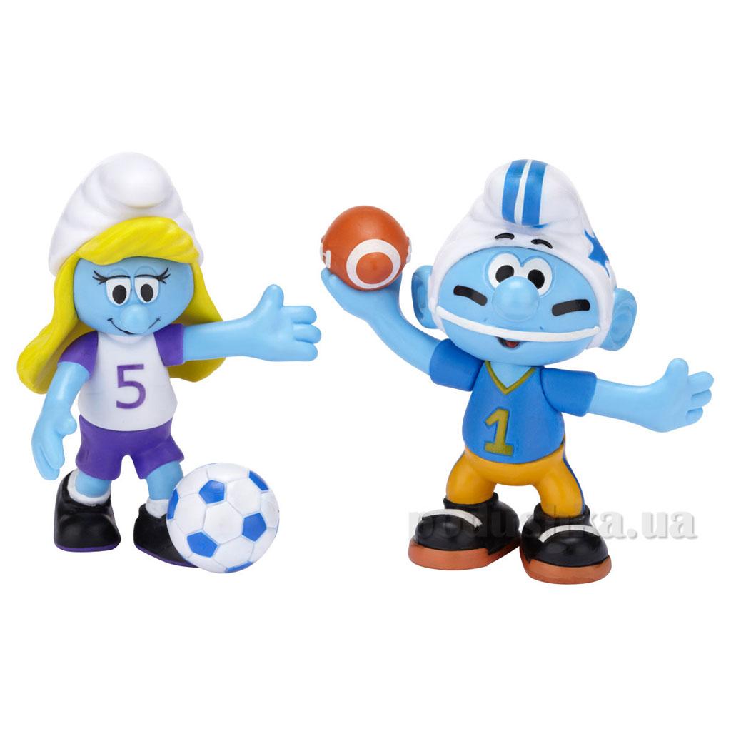 Набор фигурок Смурфетта-футболистка и Растяпа The Smurfs 49611