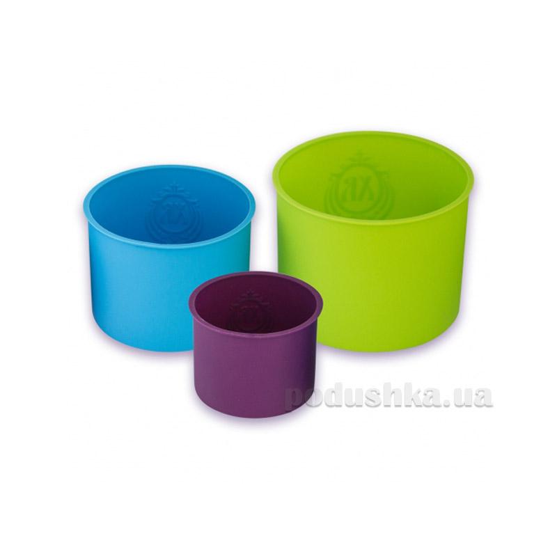 Набор форм силиконовых для кулича 3 предмета Kamille 7747