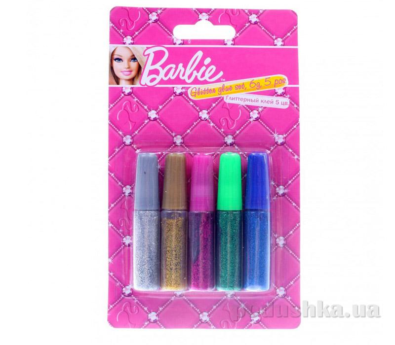 Набор глиттерного клея в блистере Barbie BRAB-US1-GL6G-BL5